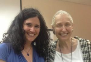 שירי לופוביץ יחד עם הדי שלייפר בהכשרה למטפלים זוגיים בישראל